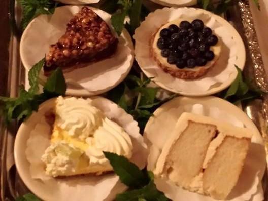 Fabulous Dessert Tray at Jimmy's Italian Restaurant, Asbury Park NJ