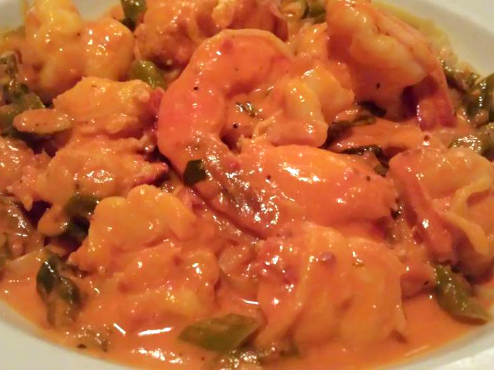 Lobster, Shrimp and Crabmeat in Pink Saucei at Jimmy's Italian Restaurant, Asbury Park NJ