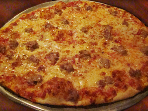 Delicious Pizza at Jimmy's Italian Restaurant, Asbury Park NJ